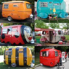 This one's for all those Boler Camper RVing Camping lovers.... what color would you pick?