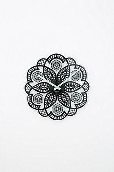 Lace Cut Clock