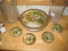 Nippon Acorn Nut Bowl Set From Ruby Lane Shop White Rose Antiques on the Lane