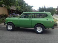 1973 International Scout II Convertable - $6500