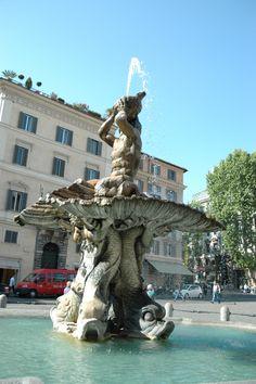 Il Tritoni, Piazza Barberini