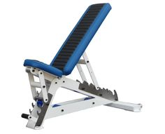 Fusion Fitness Designs Skyline Strength Adjustable bench with wheels!