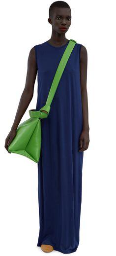 ACNE STUDIOS Ormanda Tencel Over Blue. #acnestudios #cloth #dresses