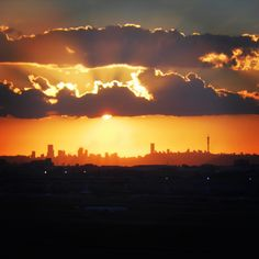 Johannesburg Skyline  {South Africa January 2012}