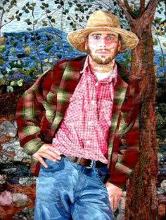 Realistic Fabric Portraits is a class at Quilt University. Start with a photograph and award-winning artist and quilter, Marilyn Belford, will guide you step-by-step through the techniques that enable you to produce realistic fabric portraits of loved ones.