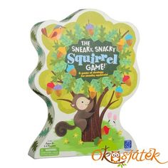 "Educational Insights ""The Sneaky, Snacky Squirrel Game! & The Sneaky, Snacky Squirrel Card Game! Preschool Board Games, Educational Board Games, Board Games For Kids, Games For Toddlers, Educational Toys, Preschool Education, Waldorf Education, Preschool Learning, Math Games"