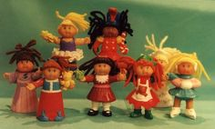 1990's McDonald Cabbage Patch dolls.