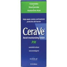 Cerave Cerave Facial Moisturizing Lotion Pm - I love the hyaluronic acid in this.