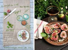 Fresh Figs w/ Peppered Honey, Goat Cheese & Mint Fancy Appetizers, Appetizer Recipes, Tomato And Cheese, Goat Cheese, Asparagus Appetizer, Fresh Figs, Spinach And Feta, Fresh Bread, Other Recipes