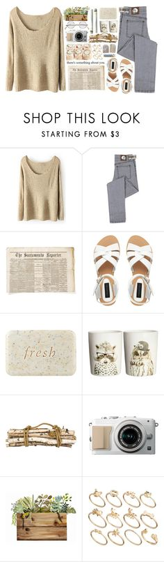 """""""""""She's sunny one minute then she's pouring down rain"""""""" by liseha ❤ liked on Polyvore featuring Cheap Monday, Forever New, Fresh, H&M, Chanel, Jayson Home and ASOS"""