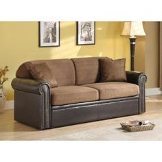 @Overstock - Stunning in any form, this chocolate microfiber sleeper looks great as a sofa and as a bed. This comfortable sleeper is made with microfiber and can convert into a generous queen-size bed.http://www.overstock.com/Home-Garden/Cobri-Chocolate-Microfiber-Sleeper/5779540/product.html?CID=214117 $699.99