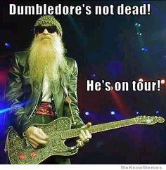 Dumbledore no está muerto, anda de gira!