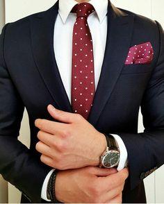 Fabulous mens suit combo..#slimfit #menwithclass