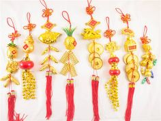 Feng Shui Lucky Hanging Charms Chinese New Year Symbols Car Wall Decoration Luck | eBay