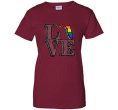 Orlando Strong Florida Love LGBT Gay Pride T Shirt