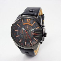 Honey Fanala Watch Men Bracelet Fashion Synthetic Leather Band Round Analog Quartz Wrist Watches Men Relogio Masculino Fashionable And Attractive Packages Quartz Watches
