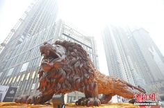 Have You Seen the World's Largest Redwood Sculpture?