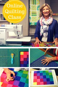 Free online quilting class! Whether you're renewing your love of quilting or making a quilt for the first time, shop owner Gail Kessler is here to guide you to success. In Gail's free online class, you'll receive 4 free quilt patterns and learn all the skills you need to bring them to life! Get started on Craftsy today.