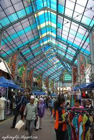 Kuala Lumpur :: shopping bazaar at Jalan Masjid India