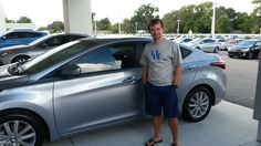 """""""I had a great experience with Mo! I am glad I came to Lakeland Automall, I almost bought used but Mo was able to put me in a new car and keep me in my budget!"""" Thank you Jason Tackett, we're thrilled that you decided to come to Lakeland Automall as well, and even happier that you are happy with your decision! We hope you are enjoying your brand new 2016 Hyundai Elantra and please, if there's anything we can do, don't hesitate to ask… We're here to help! #LakelandAutomall #LakelandHyundai"""