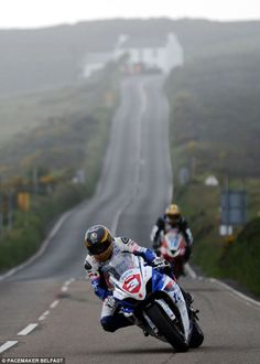 Qualifying session for the Isle of Man TT