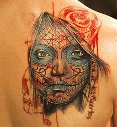 INSPIRA DNIA: tatuaże Santa Muerte