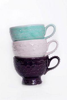 Tazas Textura - Vajilla Artesanal - Casa - 398071
