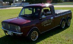 6 wheels, pickup, Aussie Clubman. Yep, pretty much my dream 6 Wheeler!
