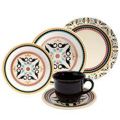Aparelho de Jantar, Chá e Sobremesa Oxford Luiza Daily JM38 6750 - 20 Peças