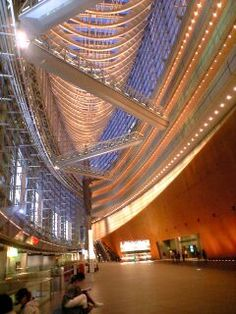 Blue moment @ Tokyo International Forum