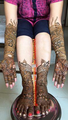 Henna Design By Fatima Leg Mehendi Design, Mehndi Designs Feet, Indian Mehndi Designs, Mehndi Designs 2018, Stylish Mehndi Designs, Mehndi Design Pictures, Mehndi Designs For Girls, Beautiful Mehndi Design, Tattoo Designs