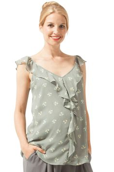 338dda9327071 Goddess Drape Nursing Top (Pewter Iron) | New Arrivals at Figure 8 |  Pinterest | Nursing tops, Tops and Pewter