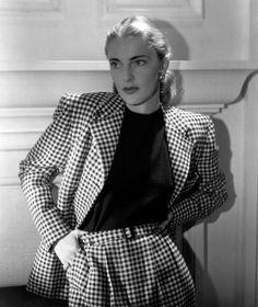 Slim Keith - northern Californian style (50's).  Slim was George Eliot (Baby) Jee, Jane's grandfather's big love