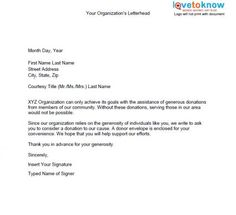 10 Best Donation Letters images in 2013 | Donation letter