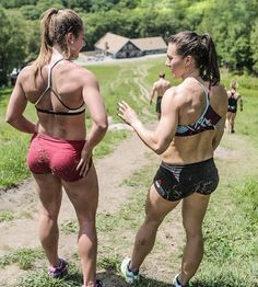 "onlyfitgirls: "" Brooke Wells and Jennifer Smith by @jordansamuelphoto """