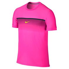 a76062c3ce Nike challenger premier Rafa crew men s tennis shirt was  75