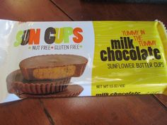 Sun Cups review and giveaway gluten free Nut free they taste fantastic #suncups