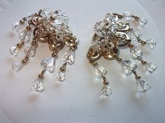 Vintage Earrings Napier Cascading by mycreativeinstincts on Etsy, $28.00