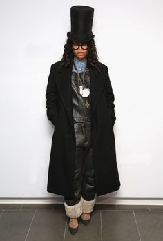 With that Badu voodoo she does so well, the singer's soulful stylings will come into play when she styles the Pyer Moss Fall 2016 show.