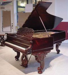 Knabe Victorian Concert Grand Piano | The Antique Piano Shop