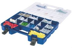 Storage Organizer with separate Lid Compartments Model 06115
