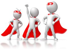Three Stick Figure Superheros - Great PowerPoint ClipArt for Presentations Powerpoint Animation, 3d Animation, 3d Figures, Stick Figures, Leadership Skill, Student Leadership, Leadership Activities, Leadership Qualities, Educational Leadership