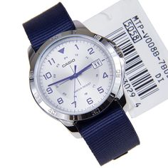 A-Watches.com - Casio Quartz Watch MTP-V008B-7B, $27.00 (http://www.a-watches.com/casio-quartz-watch-mtp-v008b-7b/)
