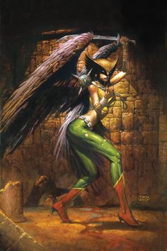 This is the Hawkgirl disambiguation page. Hawkgirl is a legacy name used by female counterparts to the super-hero Hawkman. She wields a mace and uses Nth Metal technology to fly. Carter Hall's wife Shiera Sanders w Multiverse Other Media Comics