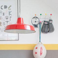 Kinderzimmer Fabriklampe Loft INSPIRATIONEN - lautentico