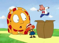 Who remembers this show? Maggie and the Ferocious Beast!!! This was my FAVORITE show when I was little.
