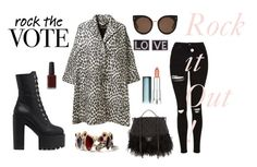 """""""rock it out"""" by ines-i-g on Polyvore featuring STELLA McCARTNEY, Topshop, Chanel, Chloe + Isabel, Maybelline, Kester Black and Givenchy"""