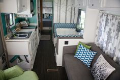RV remodel gonna do something like this when we get an rv!