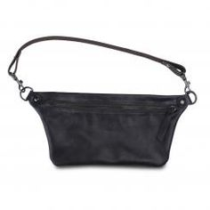 Clara (noir satiné) Leather Accessories, Marni, Handbags, Black, Fashion, Black People, Ocelot, Moda, Hand Bags
