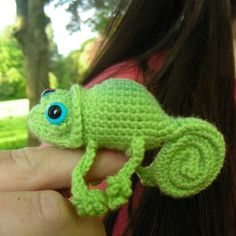 Chameleon Pattern (Crochet)